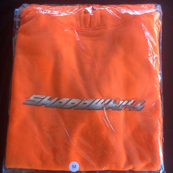 Shadow Hill Orange Hurricane hoodie NWT